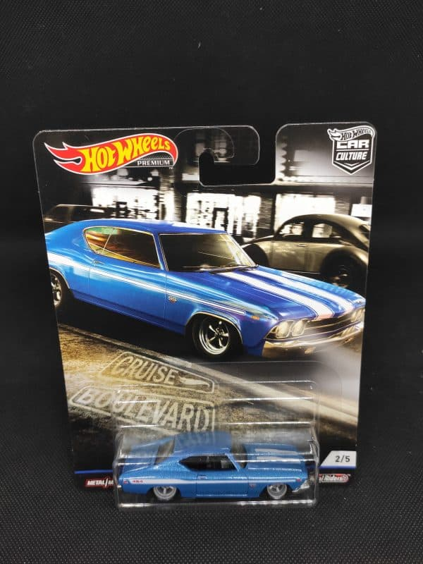 Hot Wheels Cruise Boulevard 69 Chevelle SS 396 scaled