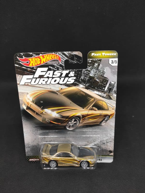 Hot Wheels Fast Tuners Nissan 240SX scaled