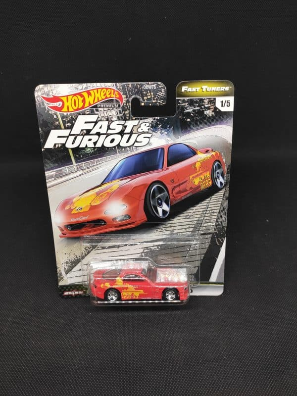 Hot Wheels Fast Tuners mazda rojo scaled