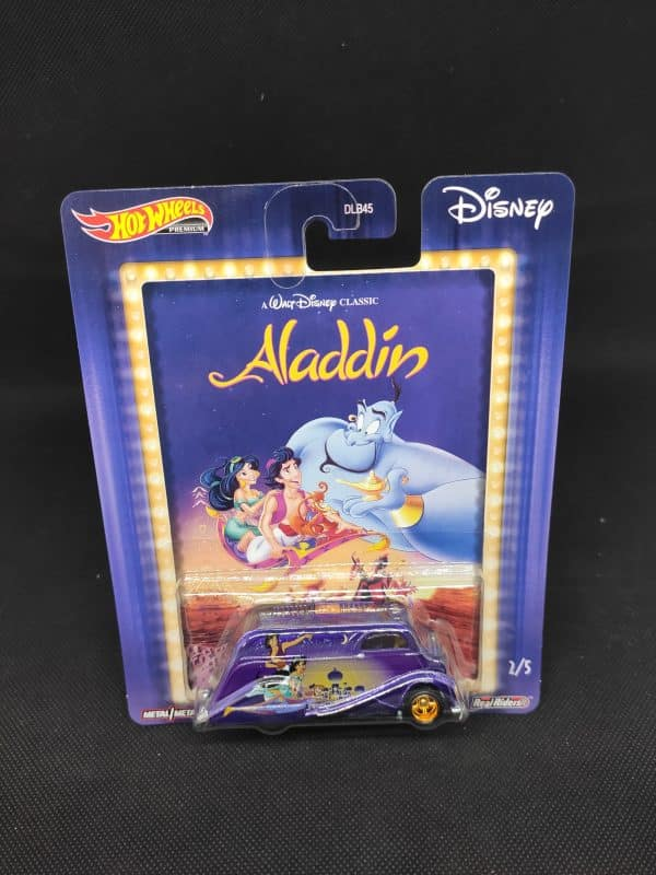 Hot Wheels disney Aladdin scaled