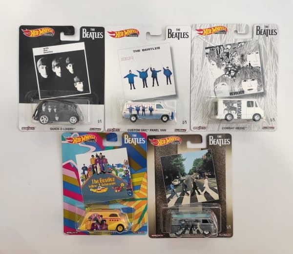 Hot Wheels serie Beatles scaled