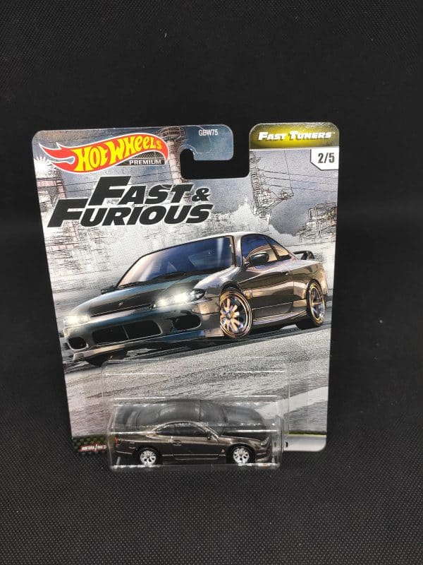 Hot Whels Fast Tuners Nissan Silvia scaled