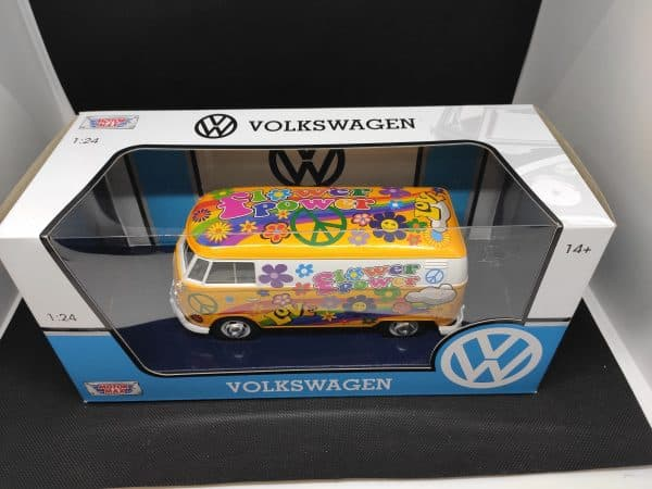 Motor Max Volskwagen flower power 1 24 scaled