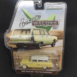 Greenlight 1955 Chevrolet Two-Ten Handyman yellow estate wagon 2